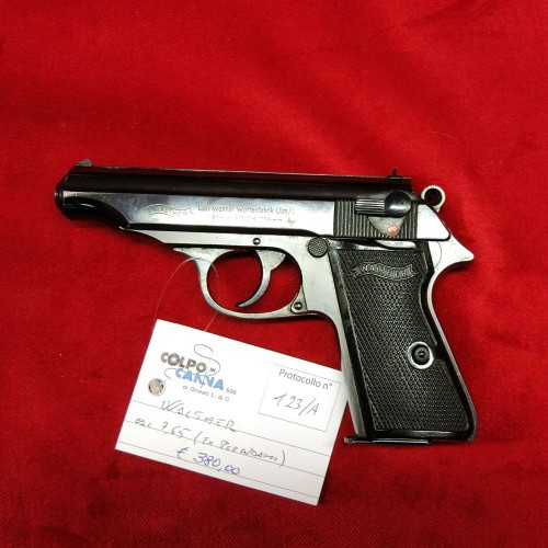 Pistola Walther cal 7.65