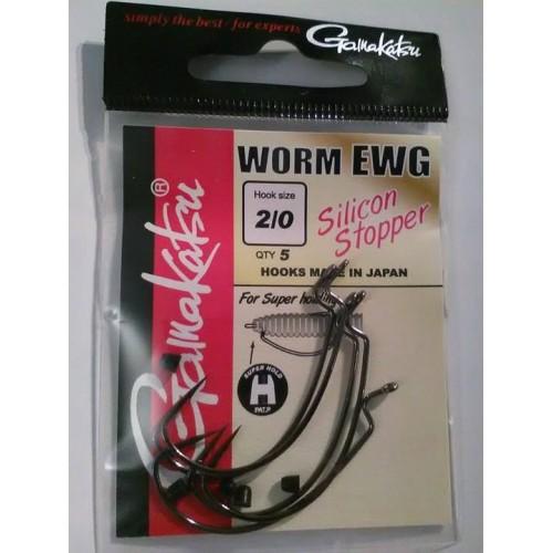 Gamakatsu Worm EWG Silicon Stopper 2/0