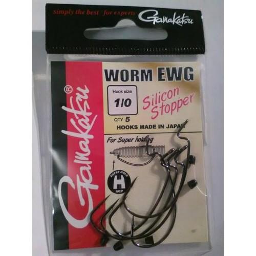 Gamakatsu Worm EWG Silicon Stopper 1/0