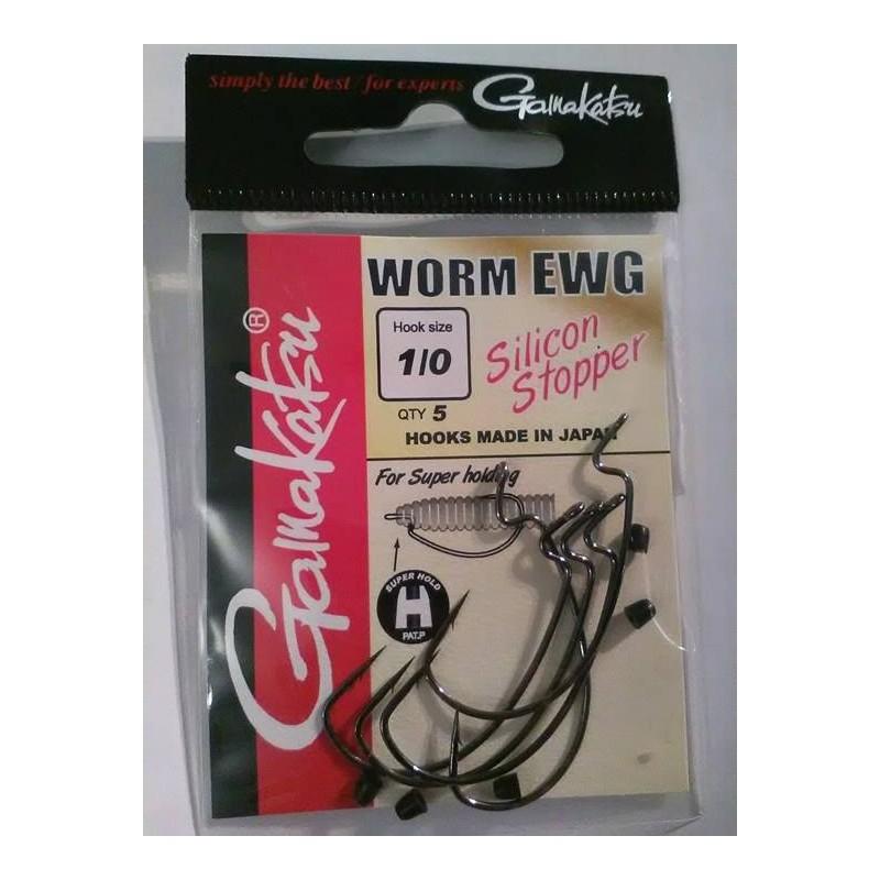 Gamakatsu Worm EWG Silicon Stopper 1
