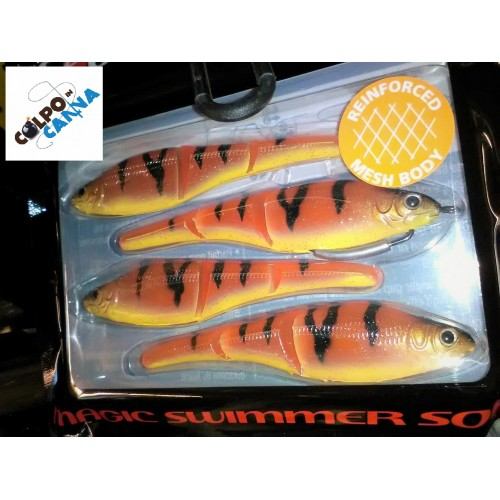 Sèbile MAGIC SWIMMER 105MM-9.7GR Orange Fleeing Prey