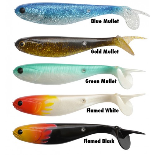 MULLET SHAD 15CM Flamed White 2PZ